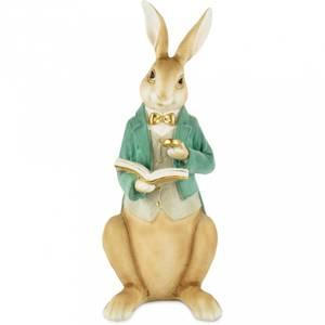 Bilde av Kanin sittende med frakk 40 cm