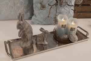 Bilde av Grå kanin liten 13 cm